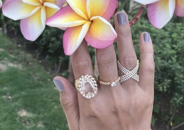 Anel de Pedra: Você já Pensou em Usar um Luxuoso para dar um Toque Especial para o seu Look Básico