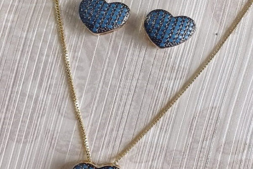 A Bela Nano Zircônia Azul Turquesa