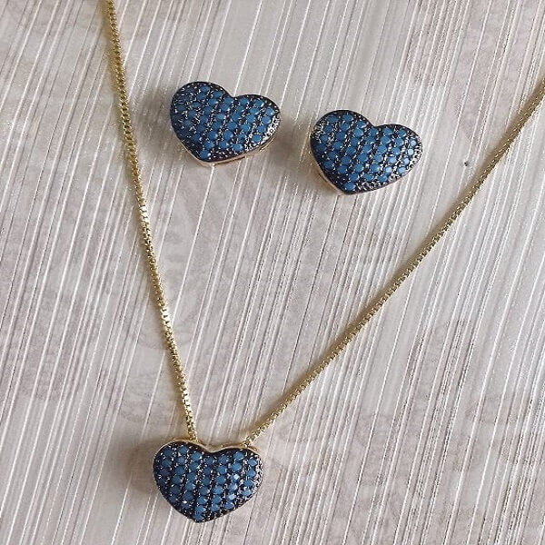 Nano Zircônia Azul Turquesa é Belíssima!