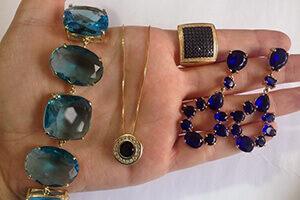 brinco de pedra azul blog