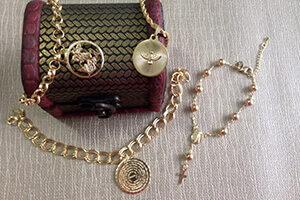 pulseira com pingente blog